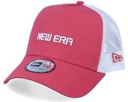 Essential Coral/White Trucker - New Era