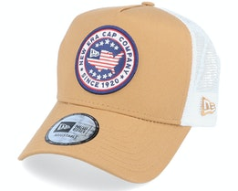 Usa Patch Trucker Camel/White Trucker - New Era