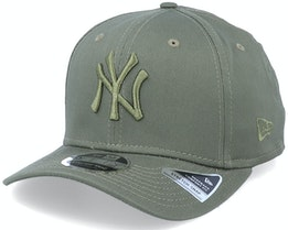 New York Yankees Essential 9Fifty Olive/Olive Adjustable - New Era