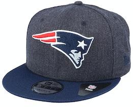 New England Patriots Heather Crown 9Fifty Navy Snapback - New Era