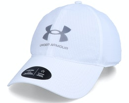 Isochill Armourvent White Dad Cap - Under Armour
