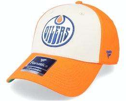 Edmonton Oilers True Classics Structured Orange Adjustable - Fanatics
