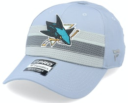 San Jose Sharks Authentic Pro Home Ice Grey Adjustable - Fanatics