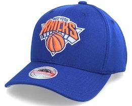 New York Knicks Team Ground Stretch Royal Adjustable - Mitchell & Ness