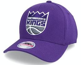 Sacramento Kings Team Ground Stretch Purple - Mitchell & Ness