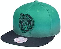 Boston Bruins Color Fade Black Snapback - Mitchell & Ness