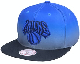New York Knicks Color Fade Blue/Black Snapback - Mitchell & Ness