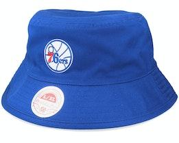Philadelphia 76ers Neo Cycle Rvb. Hwc Blue Bucket - Mitchell & Ness