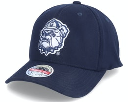 Georgetown Hoyas Georgetown U. NCAA Logo Navy Adjustable - Mitchell & Ness