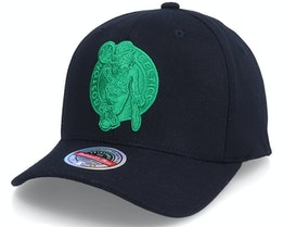 Boston Celtics Duotone Black Adjustable - Mitchell & Ness