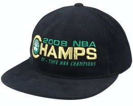 Boston Celtics Champs Deadstock Black Snapback - Mitchell & Ness