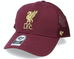 Liverpool Branson Metallic Mvp Dark Maroon/Gold Trucker - 47 Brand