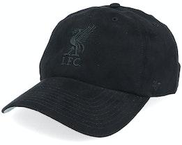 Liverpool Ultra Basic Clean Up Dad Cap Black Adjustable - 47 Brand