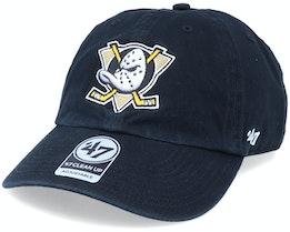 Anaheim Ducks Clean Up Black/White Adjustable - 47 Brand