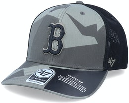 Boston Red Sox Mvp DP Countershade Sandalwood Camo/Black Trucker - 47 Brand