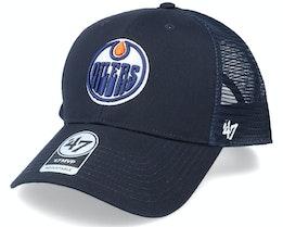 Edmonton Oilers Mvp Navy Trucker - 47 Brand