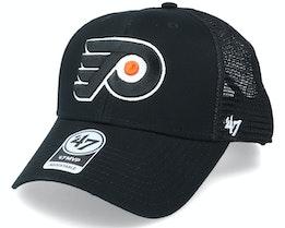 Philadelphia Flyers Branson Mvp Black/White Trucker - 47 Brand