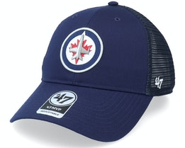Winnipeg Jets Branson Mvp Light Navy Trucker - 47 Brand