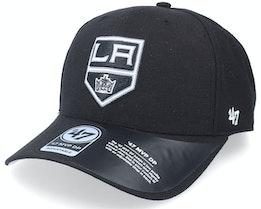 Los Angeles Kings Cold Zone Mvp Deep Profile Black Adjustable - 47 Brand