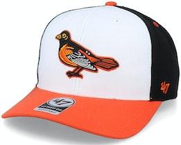 Baltimore Orioles Cooperstown Mvp DP White/Black Adjustable - 47 Brand
