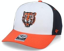 Detroit Tigers Cooperstown Mvp DP White/Navy Adjustable - 47 Brand