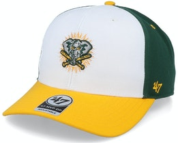 Oakland Athletics Cooperstown Mvp DP White/Dark Green Adjustable - 47 Brand