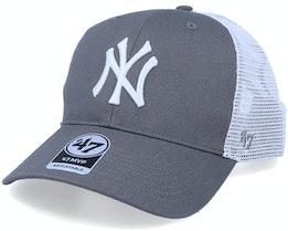 New York Yankees Flagship Mvp Dark Grey/White Trucker - 47 Brand