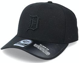 Detroit Tigers Cold Zone Mvp DP Black Adjustable - 47 Brand