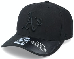Oakland Athletics Cold Zone Mvp DP Black Adjustable - 47 Brand
