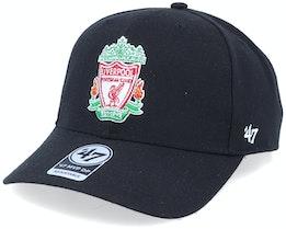 Hatstore Exclusive Liverpool FC Crest Black DP Adjustable - 47 Brand