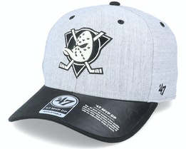 Anaheim Ducks Storm Cloud TT Mvp DP Heather Grey/Black Adjustable - 47 Brand