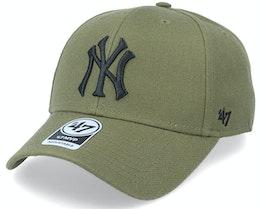 New York Yankees Mvp Forest Green/Black Adjustable - 47 Brand