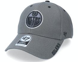 Edmonton Oilers Defrost Mvp Charcoal Adjustable - 47 Brand