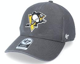 Pittsburgh Penguins Legend Mvp Charcoal Adjustable - 47 Brand