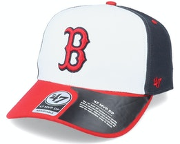 Boston Red Sox Replica Cold Zone Mvp DP White/Navy/Red Adjustable - 47 Brand