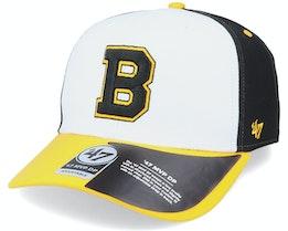 Boston Bruins Replica Cold Zone Mvp DP White/Black/Yellow Adjustable - 47 Brand