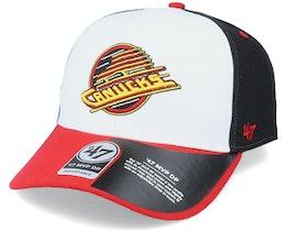 Vancouver Canucks Replica Cold Zone Mvp DP White/Black/Red Adjustable - 47 Brand