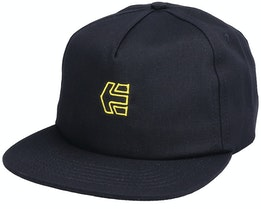 Icon Strapback Black/Yellow Snapback - Etnies