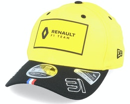 Renault 31 9Fifty Stretch Yellow/Black Adjustable - Formula One
