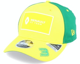 Renault 3 Aus 9Fifty Yellow/Green Adjustable - Formula One
