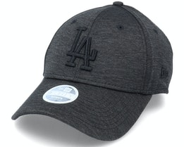 Los Angeles Dodgers Womens Tonal 9Forty Black/Black Adjustable - New Era