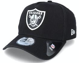 Las Vegas Raiders Team Washed A-Frame Black Adjustable - New Era