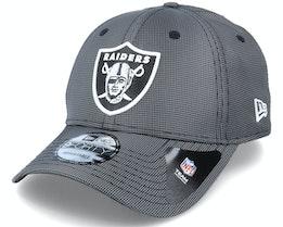 Las Vegas Raiders Team Ripstop 9Forty Grey Adjustable - New Era