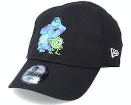 Kids Monsters Inc Infant Disney Face 9Forty Black Adjustable - New Era