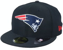 New England Patriots Hex Tech NFL Black 59Fifty Fitted - New Era