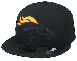 Denver Broncos Elements 2.0 Black/Yellow Fitted - New Era