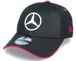 Mercedes E-Sports Reflective 9Forty Black/Pink Adjustable - New Era