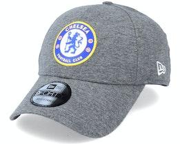 Chelsea Jersey 9Forty Heather Grey Adjustable - New Era