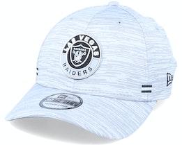 Las Vegas Raiders NFL 20 On Field Road 39Thirty Grey Flexfit - New Era