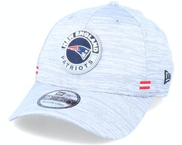 New England Patriots NFL 20 On Field Road 39Thirty Grey Flexfit - New Era